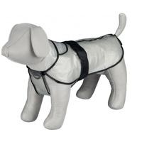 Praktikus vízhatlan esőkabát fekete szegéllyel kutyáknak