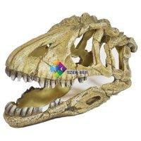 Dinoszaurusz koponya akvárium dekoráció