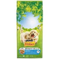 Friskies Junior száraz kölyökkutya eledel extra fehérjével