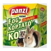 Panzi zöldalmás fogkoptató kisállatoknak
