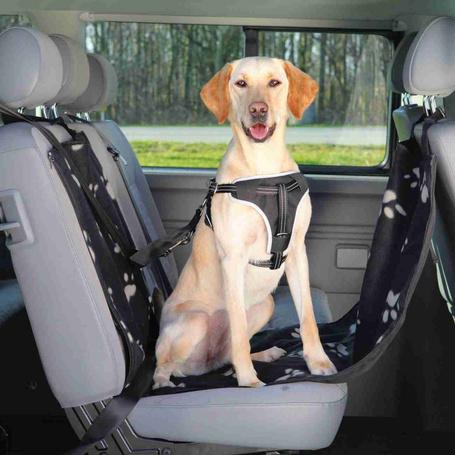 Trixie tappancsmintás vízlepergető üléshuzat autóba kutyáknak