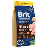 Brit Premium Adult Medium Breed | Közepes termetű, felnőtt kutyáknak