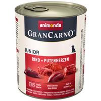 Animonda GranCarno Junior pulykaszíves és marhahúsos konzerv