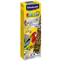 Vitakraft Kracker Feather Care vedlést segítő dupla rúd tollváltó nimfapapagájoknak