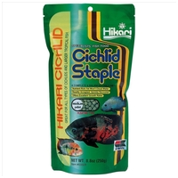 Hikari Cichlid Staple Medium | Színerősítő haleleség közepes méretű sügéreknek és más trópusi halfajoknak