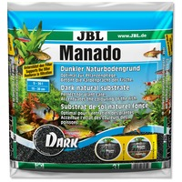 JBL Manado Dark speciális fekete növényi táptalaj akváriumokba