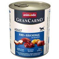 Animonda GranCarno Adult angolnás, marhahúsos és burgonyás konzerv