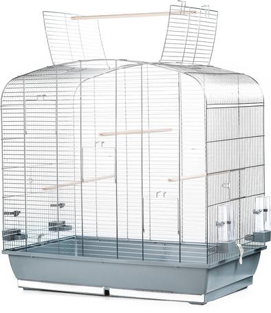 Inter-Zoo Sara nyitható tetős, nagy alapterületű madárkalitka (78 x 48 x 79 cm)