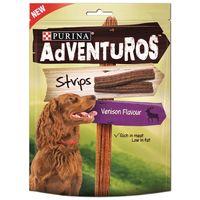Purina Adventuros Strips – Szarvas és vad ízben