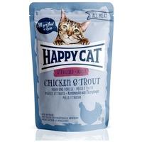 Happy Cat All Meat Sterilised alutasakos eledel csirkehússal és pisztránggal