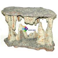 Cseppkőbarlang műszikla akvárium dekoráció