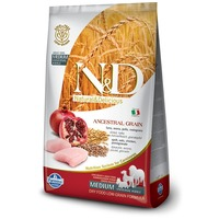 N&D Dog Adult Medium/Maxi Chicken & Pomegranate Ancestral Grain