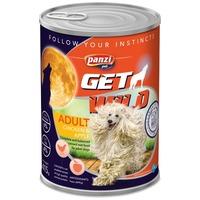 Panzi GetWild Dog Adult Chicken & Apple konzerv