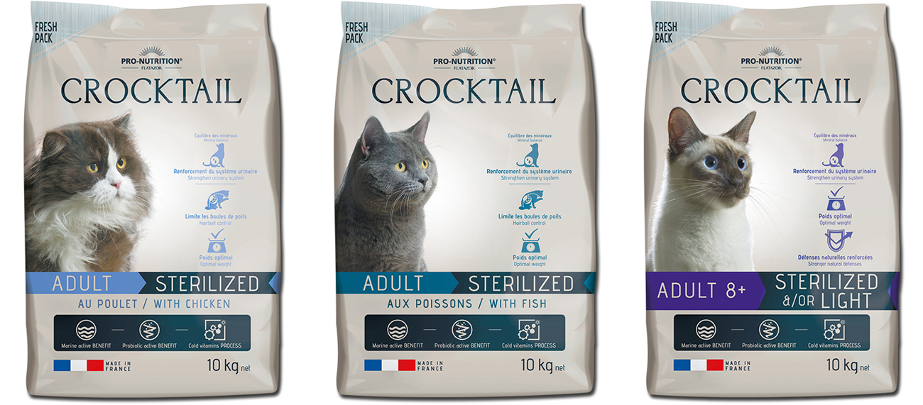 Flatazor Crocktail Sterilized & Light