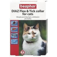 Beaphar fekete bolhanyakörv macskáknak dobozban