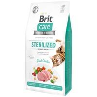 Brit Care Cat Sterilized Urinary Health Fresh Chicken - Hipoallergén, gabonamentes eledel ivartalanított macskáknak a húgyutak egészségéért