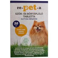 Re-pet-a szőr-, bőrtápláló tabletta kutyáknak