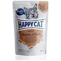 Happy Cat Meat in Sauce alutasakos eledel csirke- és kacsahússal