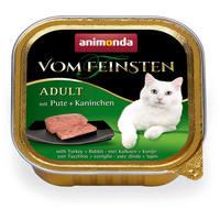 Animonda Vom Feinsten Adult – Pulyka- és nyúlhúsos macskaeledel