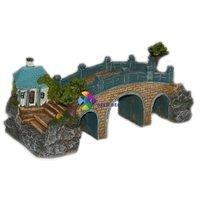 Kis viadukt akvárium dekoráció