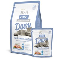 Brit Care Cat Daisy I've to control my Weight - Turkey & Rice - Hipoallergén eledel túlsúlyos macskáknak
