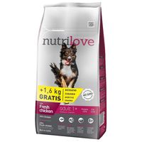 Nutrilove Dog Adult Medium Chicken