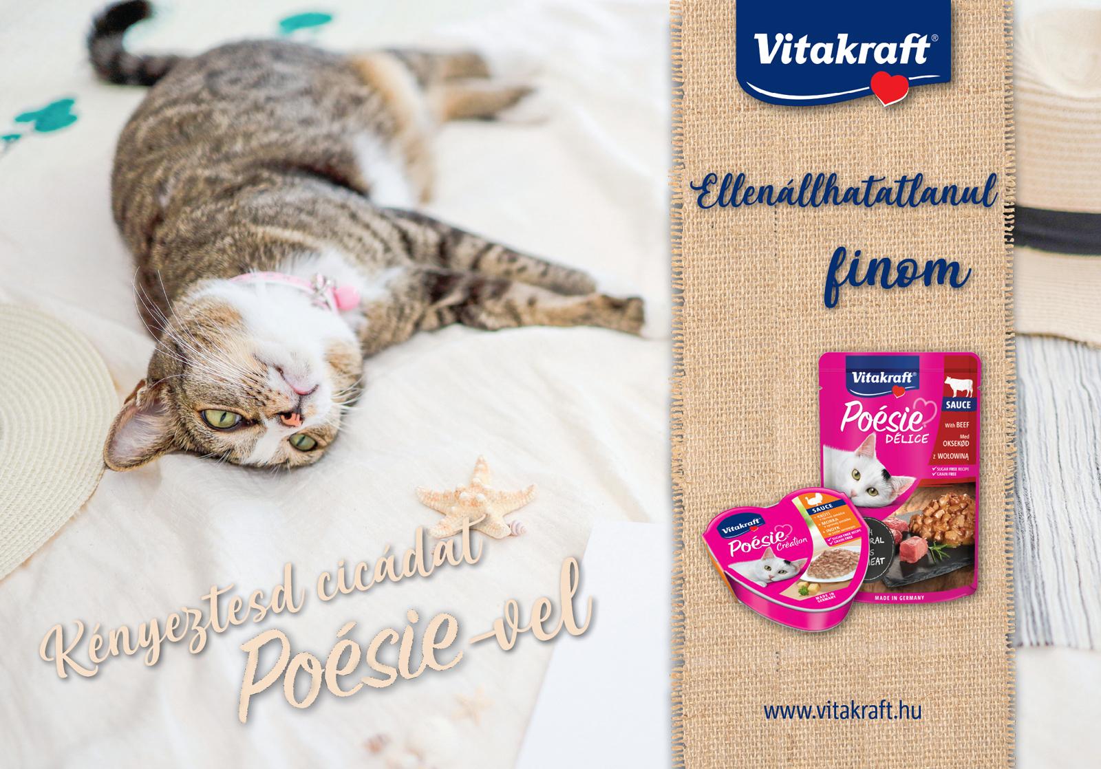 Vitakraft Poésie macskaeledelek