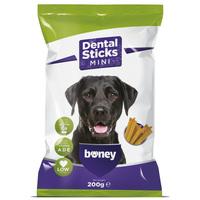 Boney Dental Sticks Mini - Rágórudak kistestű kutyák részére - Alacsony zsírtartalommal