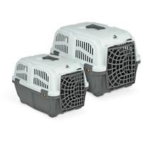 Skudo műanyag ajtós szállítóbox kutyáknak és macskáknak