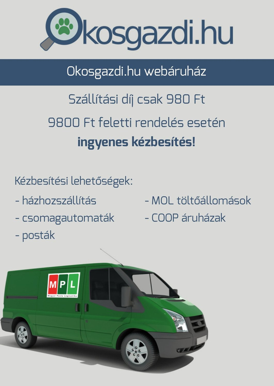 Okosgazdi webáruház - Ingyenes szállítás és kézbesítési módok