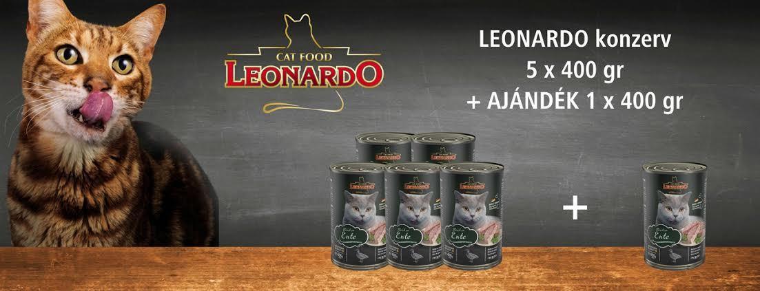 Leonardo konzerv akció 5+1