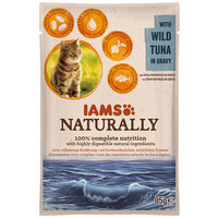IAMS Naturally Cat – Tonhal falatok szószban