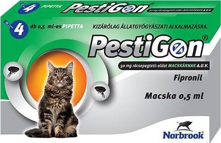 Pestigon Spot On macskáknak | Bolhák és kullancsok elleni védekezéshez