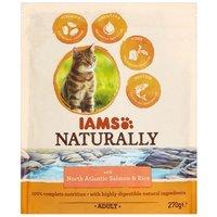 IAMS Naturally Cat – Lazacos szárazeledel