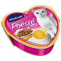 Vitakraft Poésie szószos macskaeledel csirkével és kerti zöldségekkel alutálkában