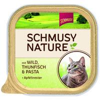 Schmusy Nature alutálkás macskeledel vadhússal és tonhallal