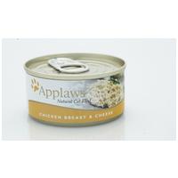 Applaws csirkemellhúsos és sajtos konzerv macskáknak