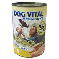 Dog Vital Chicken & Carrot konzerv