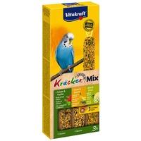 Vitakraft Kracker Mix paprikás, banános és kivis tripla rúd hullámosnak