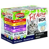 FitActive Fit-a-Box alutasakos eledel macskáknak vegyes ízekben - Multipack