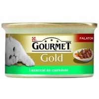 Gourmet Gold lazac és csirkehús szószban