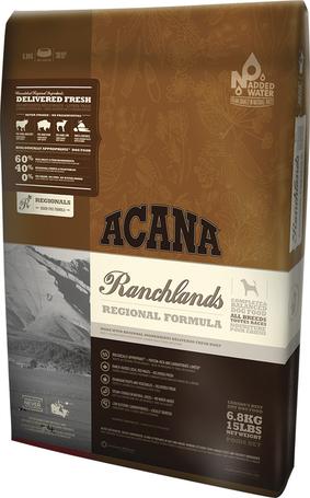 Acana Ranchlands Dog vöröshúsban gazdag gabonamentes kutyatáp
