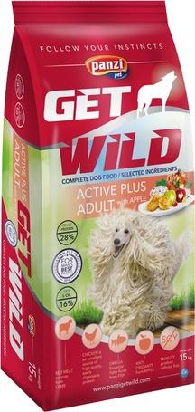 Panzi GetWild Dog Adult Active Plus Lamb & Apple táp aktív kutyáknak és munkakutyáknak