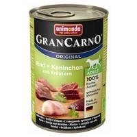 Animonda GranCarno Adult nyúlhúsos, marhahúsos és gyógynövényes konzerv