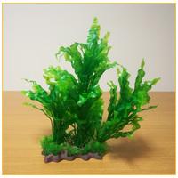 Akváriumi palás műnövény hosszú hullámos levelekkel