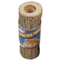 Rágcsáló bújkáló alagút fából