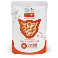 Brit Care Cat Chicken & Cheese alutasakos macskaeledel