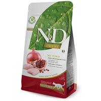 N&D Cat Adult Chicken & Pomegranate Neutered Grain Free