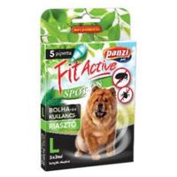 FitActive kullancs- és bolhariasztó spot on kutyáknak (L; Nagytestű kutyáknak; 5 db pipetta)