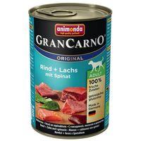 Animonda GranCarno Adult marhahúsos, lazacos és spenótos konzerv